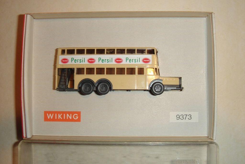 Autobus piętrowy - Wiking - skala N - 1:160