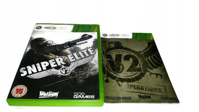 Sniper Elite V2 Xbox 360 Xbox One 7578717735 Oficjalne Archiwum Allegro