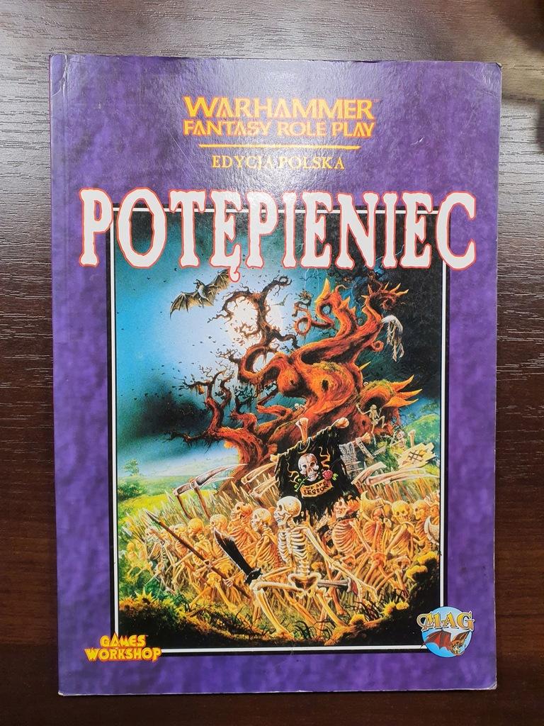 POTĘPIENIEC - Warhammer RPG - 1 ed.