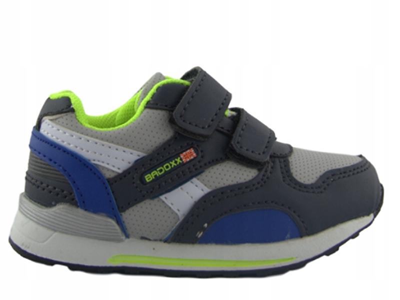 Buty dziecięce sportowe półbuty rzepy 21
