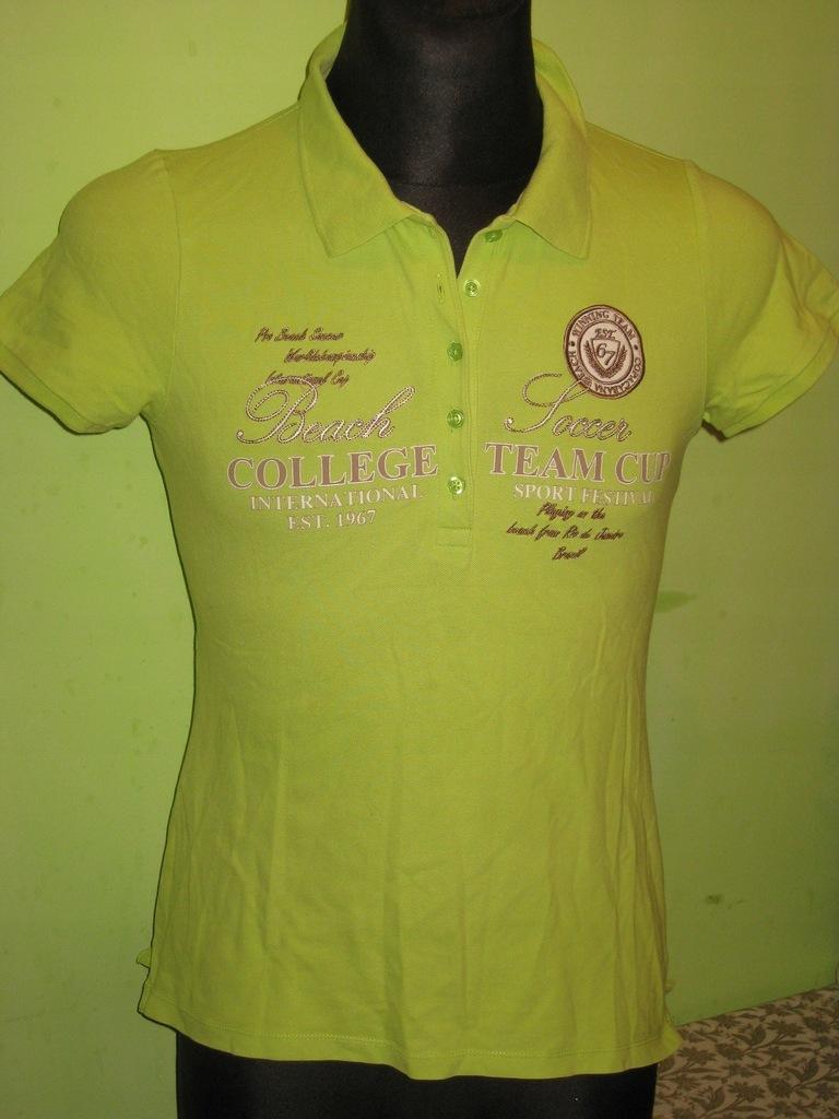 MONTEGO - koszulka polo - damska roz. M