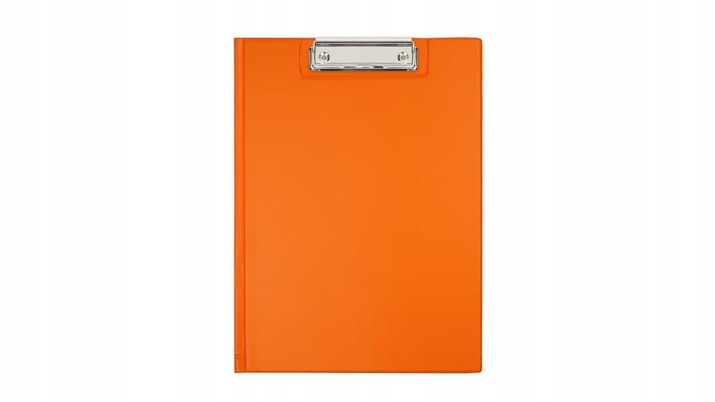 Deska z klipem Biurfol A4 pomarańczowy