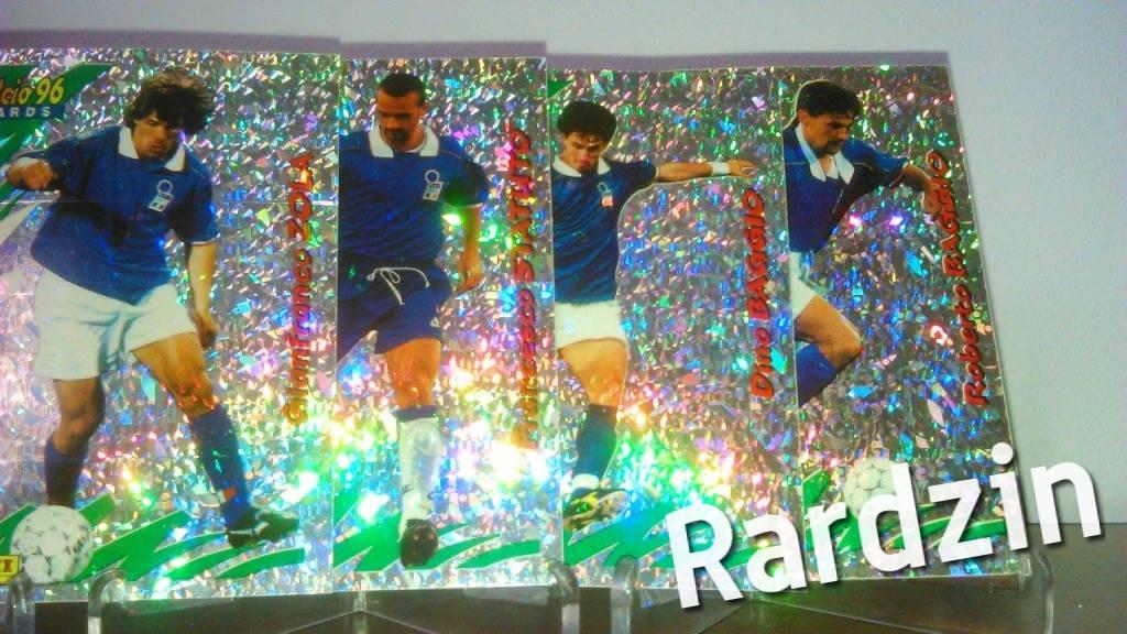 Cards Panini Calcio 96 – Azzurri – 4 sztuki