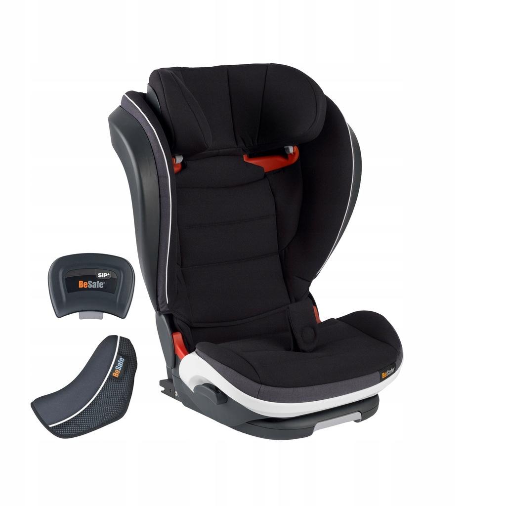 BeSafe iZi Flex Fix i-size 15-36kg Fotelik czarny