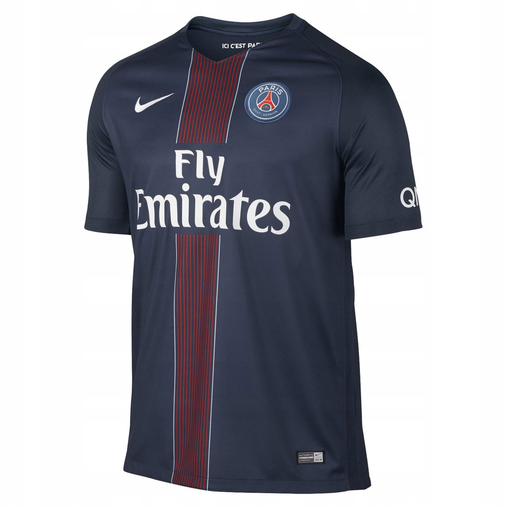 Nike paris saint germain psg koszulka home s Galeria zdjęć