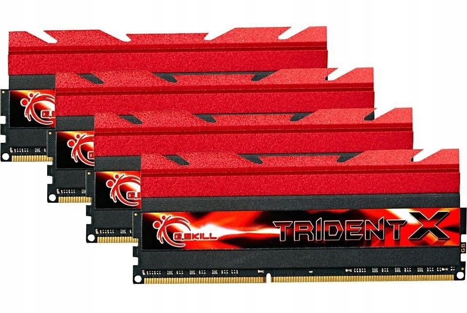Pamięć RAM DDR3 32GB 4x8 Tridentx 2400MHz CL10