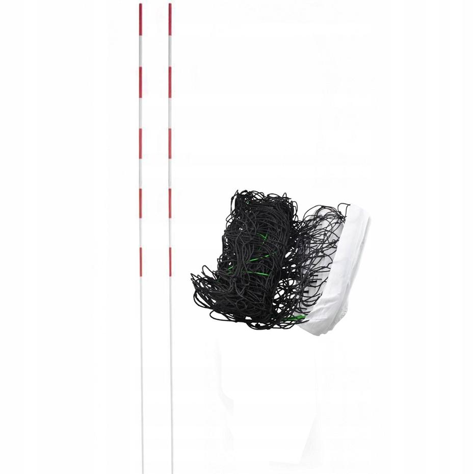 Siatka do siatkówki z antenkami Netex biała SI0005