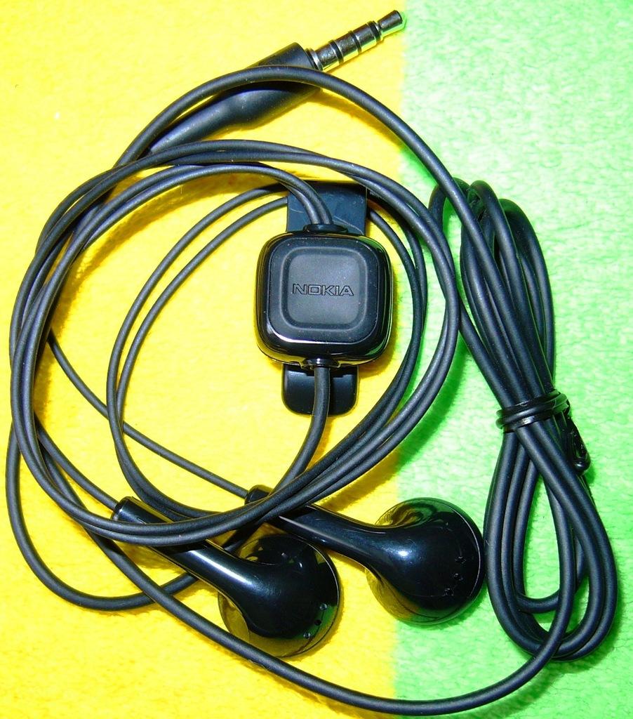 Słuchawki Nokia WH-102 z mikrofonem douszne