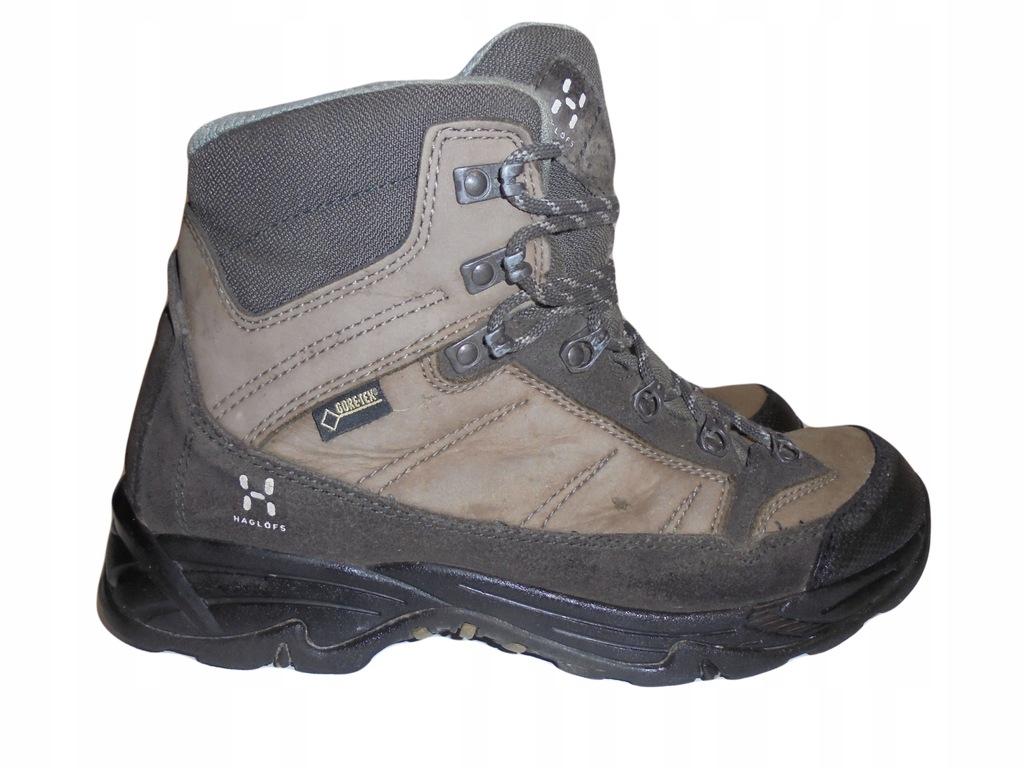Skórzane buty Haglofs z Gore-tex. Rozmiar 38,5.
