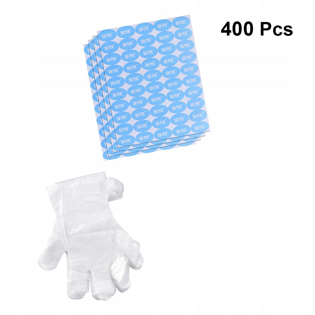 Rękawiczki jednorazowe Plastikowe rękawice PE Ręka
