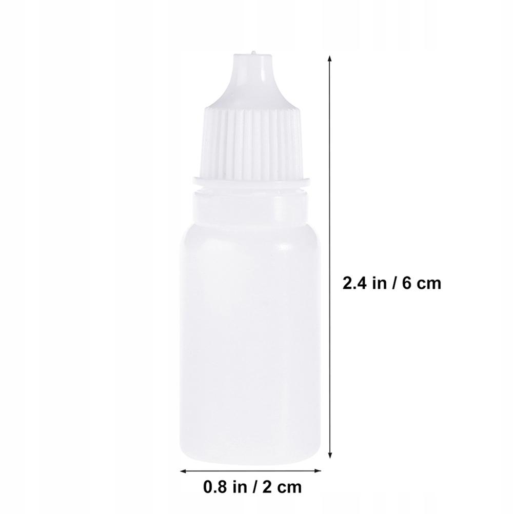 50 sztuk 10 Puste plastikowe wyciskane butelki