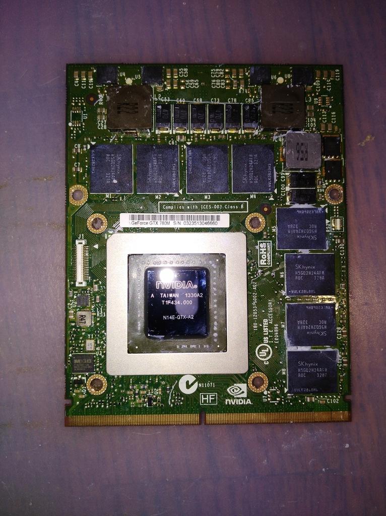 Nvidia Geforce Gtx 780m 4gb Mxm 3 0b Msi Gt70 7854588961 Oficjalne Archiwum Allegro