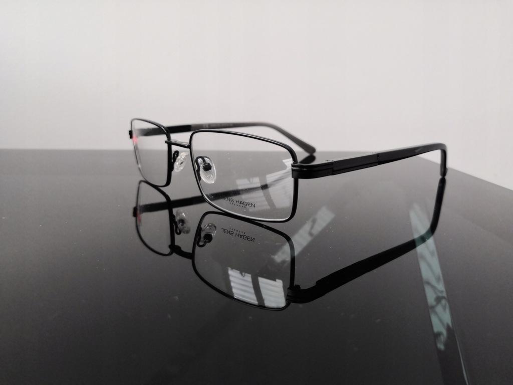 Okulary oprawki JENS HAGEN Solano z nakładką 8318842789