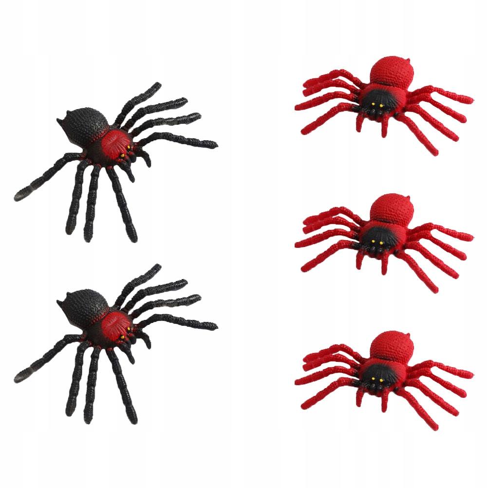 5 SZTUK TPR Straszna Symulacja Pająk Model Zabawki