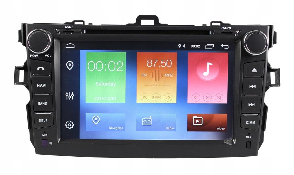 RADIO NAWIGACJA GPS TOYOTA COROLLA E15 2006-2012