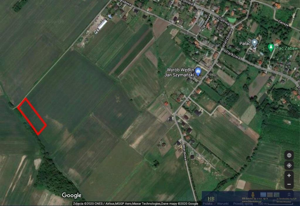 Działka, Rogoż, Wisznia Mała (gm.), 2225 m²