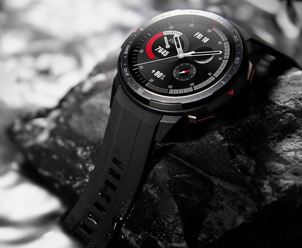 Smartwatch Honor Watch GS Pro czarny Szkło gratis