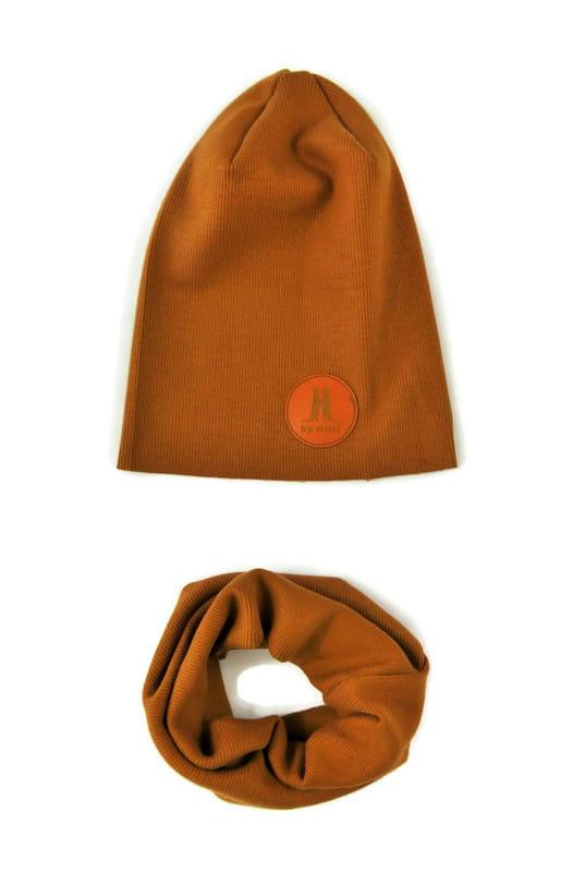 Czapka Komin Komplet Camel By Mimi Uniwersalny 8513477303 Oficjalne Archiwum Allegro