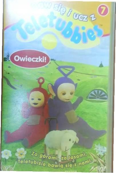 Baw się i ucz z Teletubbies 7 Owieczki - VHS video