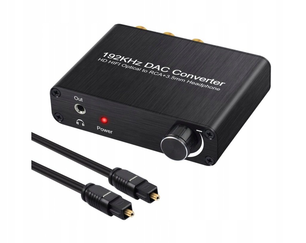 Wzmacniacz słuchawkowy +DAC Toslink SPDIF AC-3 DTS