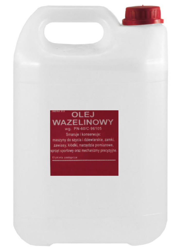 Olej wazelinowy 5000ml