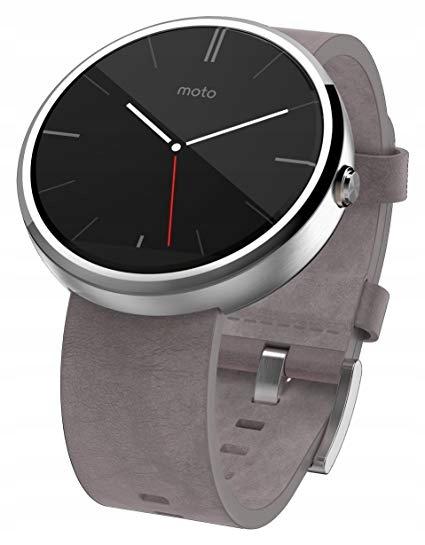 Smartwatch Motorola Moto 360 srebrny
