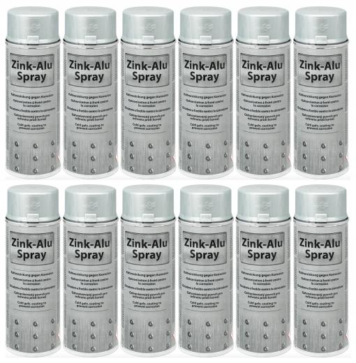 Alu-cynk w sprayu 400ml MOTIP spray 12sztuk