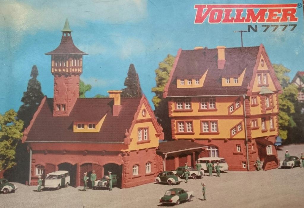 Tylko budynek komisariatu Vollmer 7777 skala N