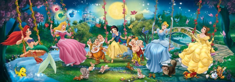 Clementoni Puzzle 1000 Disney księżniczki panorama