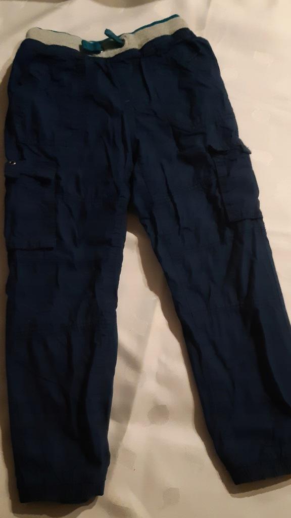 Spodnie ocieplane rozm. 128 Cool Club granatowe