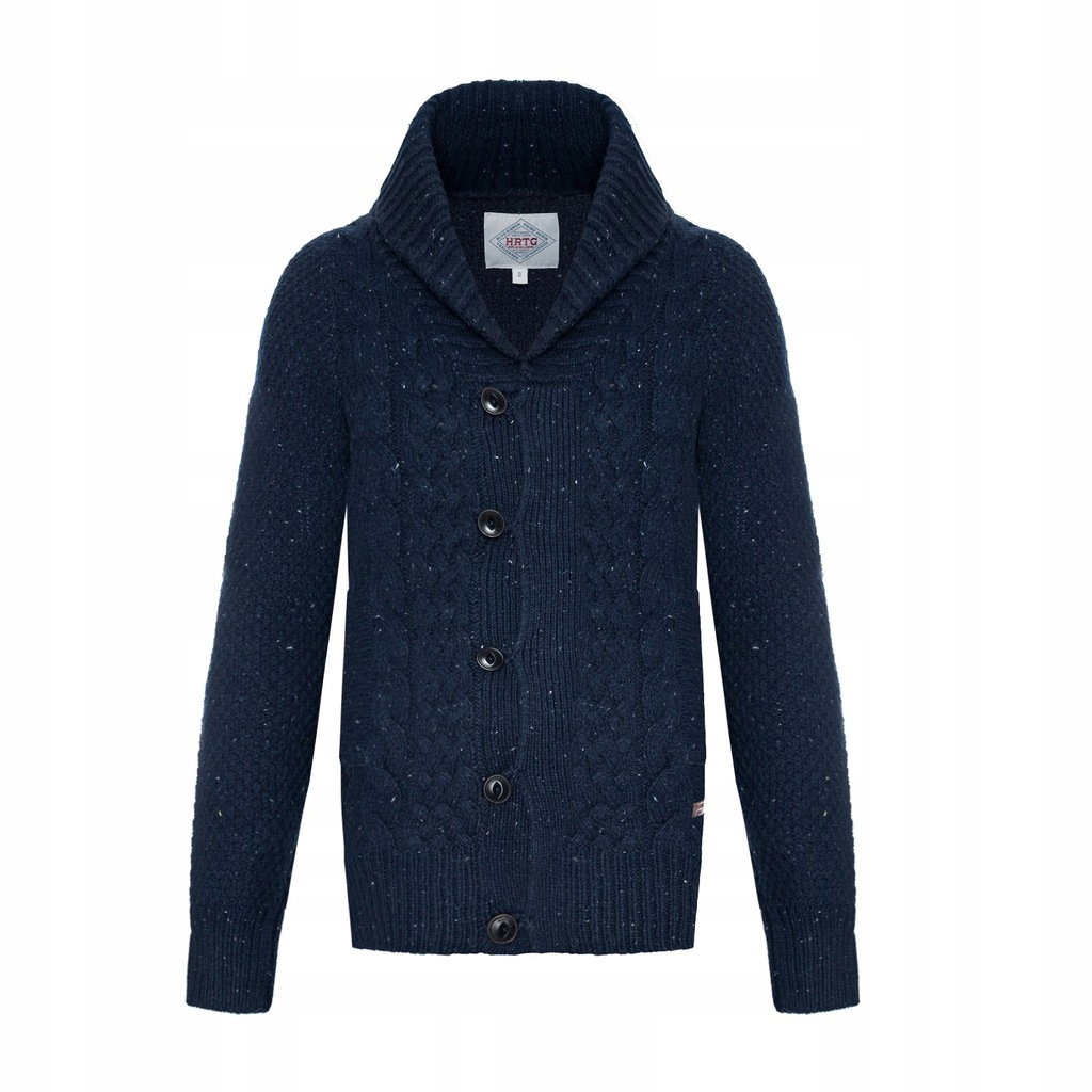 Kardigan sweter męski Pepe Jeans gruby CIEPŁY S