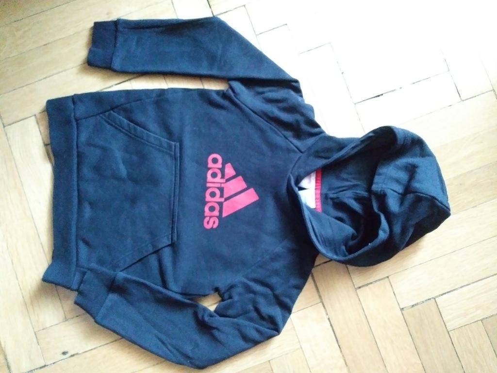 Bluza dziecięca z kapturem adidas