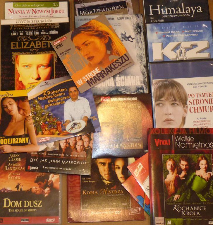 Kolekcja filmów DVD 17 szt - Dom Dusz, Elizabeth..