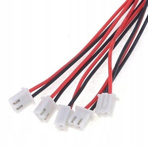 Złącze balancera XH 1S 2pin z przewodem raster 2.5