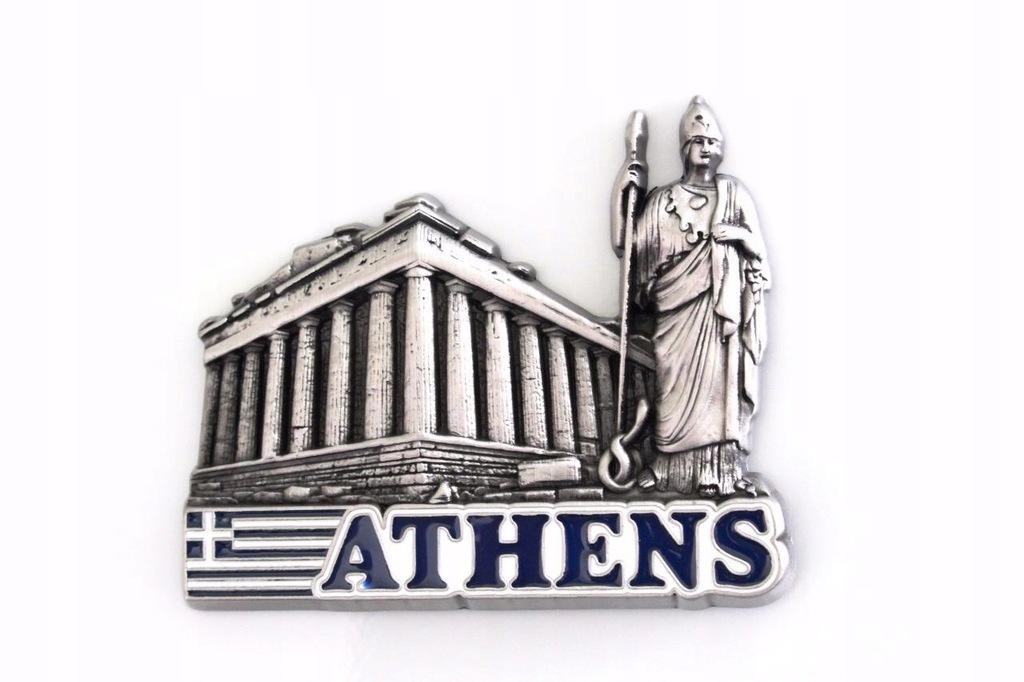 Magnesy metalowe na lodówke : Ateny.