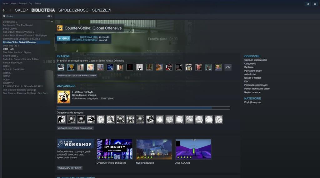 Konto Steam CS:GO, RE2, DMC5, +INNE GRY