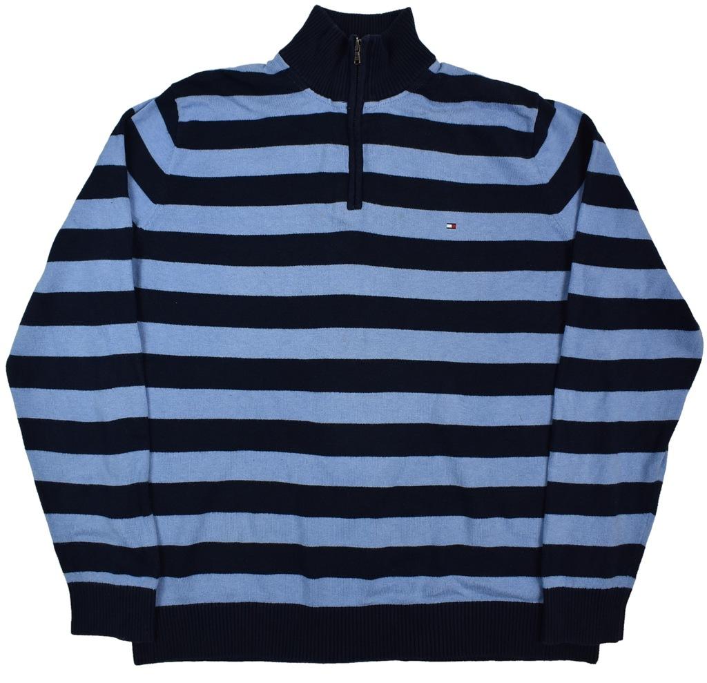 Duży Sweter Tommy Hilfiger z USA 2XL 142cm SW154