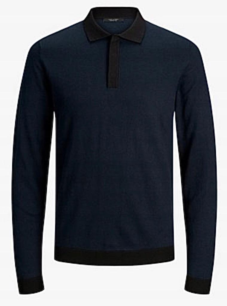 JACK & JONES PREMIUM POLO oryginalny sweter S
