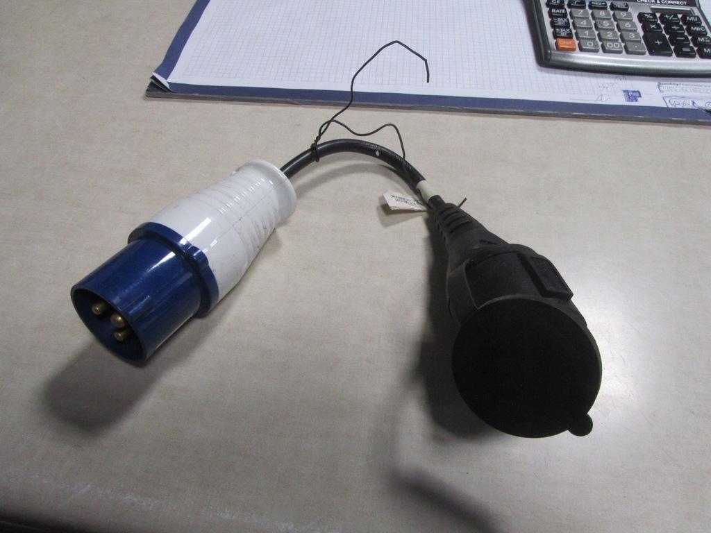 2x Kabel przyłączeniowy CEE 200-250 V Kemping !!