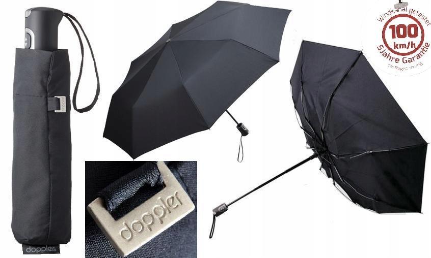 5 lat gwarancji parasol DOPPLER CARBONSTEEL 100km