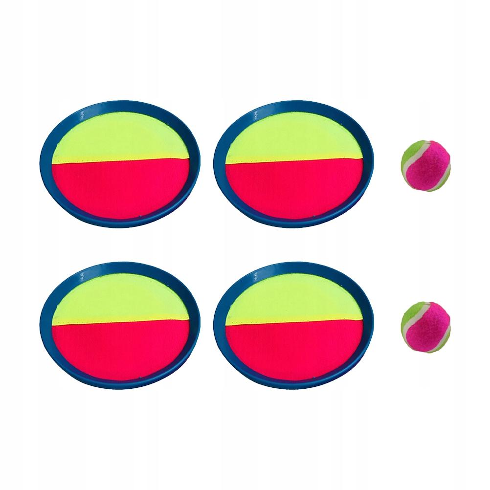 6 sztuk Sticky Cricket Toy Sucker Ball Gra Toy Sti