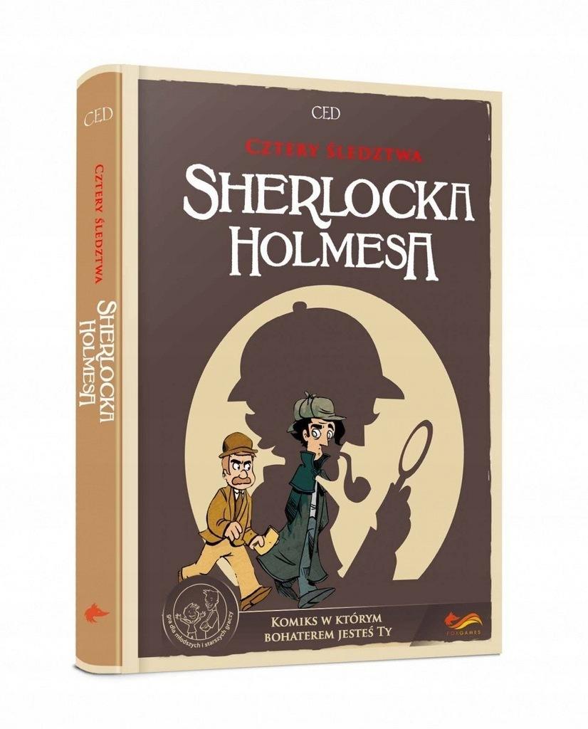 Gra Komiks Paragrafowy: Cztery śledztwa Sherlocka
