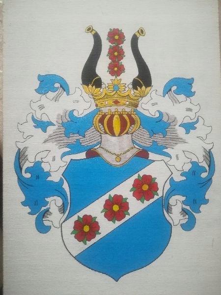 HERB SZLACHECKI DOLIWA , 21 x 30 cm ( wzór)