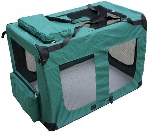 Transporter dla zwierząt XXL, zielony