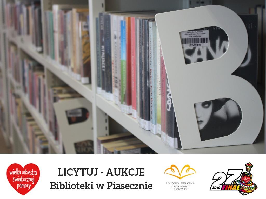 Wybierz książki do biblioteki w Piasecznie!