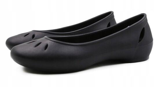Sandały CROCS KELLI FLAT klapki 36-37 W6 23,5cm