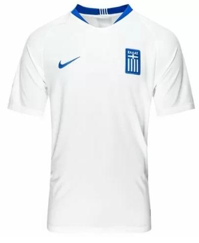 Koszulka domowa Nike Grecja biała size S