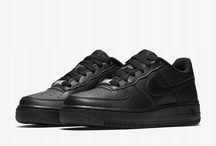 Nike AIR FORCE 1 ONE LOW Czarne Białe NISKIE r 41