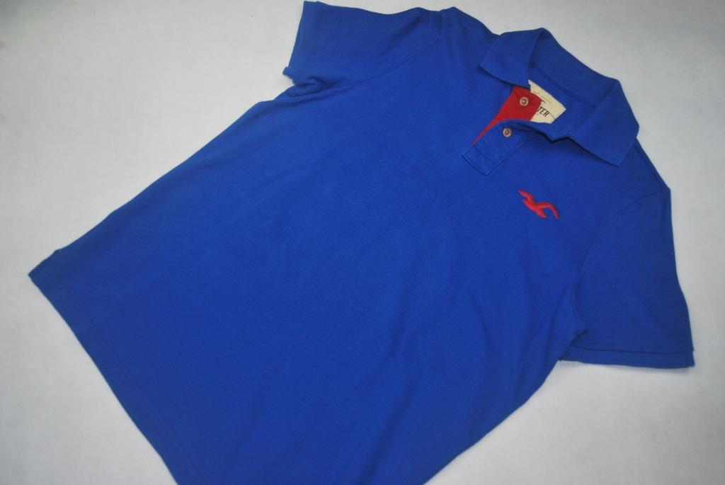 Hollister koszulka polo polówka L