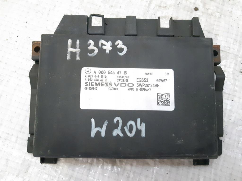 STEROWNIK SKRZYNI A0005454716 MERCEDES W204 2.2